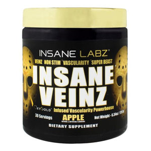 Insane Veinz Gold Apple 6.34 Oz by Insane Labz (4754311905365)
