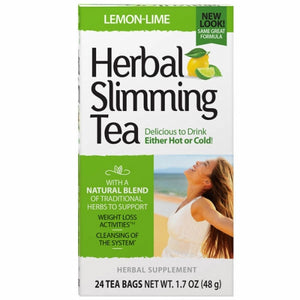 Herbal Slimming Tea Lemon Lime 24 Bags by 21st Century