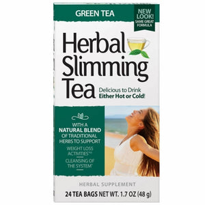 Herbal Slimming Tea Green Tea 24 Bags by 21st Century