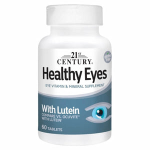 Healthy Eyes 60 Tabs by 21st Century (4754322915413)