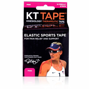 Elastic Sports Tape Black 1 Each by KT Tape