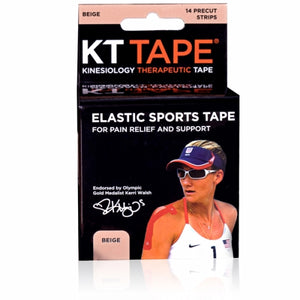 Elastic Sports Tape Beige 1 Each by KT Tape