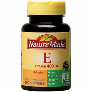 Vitamin E DL-Alpha 100 Softgels by Nature Made (4754324357205)