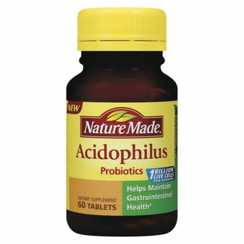 Acidophilus Probiotics 60 Tabs by Nature Made