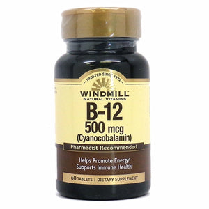 Vitamin B-12 60 Tabs by Nature Made (4754326519893)