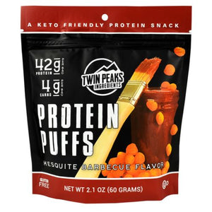 Protein Puffs Mesquite Barbeque 12 Each by Twin Peaks Ingredients (4754331041877)