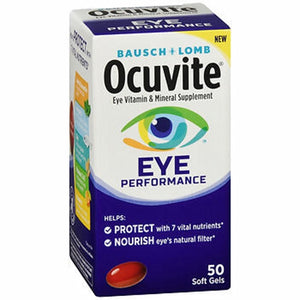 Bausch + Lomb Ocuvite Eye Performance Soft Gels 50 Softgels by Bausch And Lomb (4754336055381)