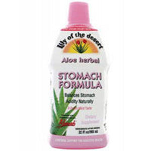 Aloe Vera Juice Stomach Formula 32 Oz by Lily Of The Desert