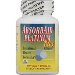 Absorbaid Platinum Plus 60 Vegicaps by NATURE'S SOURCES (AbsorbAid & Kolorex)