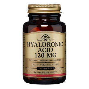 Hyaluronic Acid 30 Tablets by Solgar