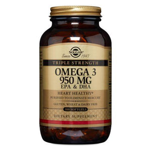 Triple Strength Omega-3 100 S Gels by Solgar