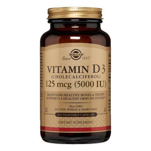 Vitamin D3 (Cholecalciferol) 240 V Caps by Solgar