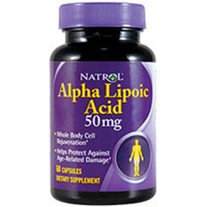 Natrol Alpha Lipoic Acid 60 caps by Natrol