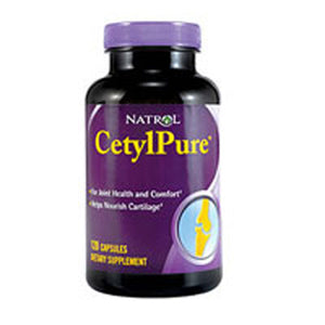 Cetylpure (Cetyl Myristoleate Complex) 120 Caps by Natrol (2583994433621)