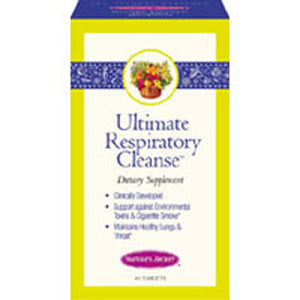 Respiratory Support & Defense 60 Tabs by Nature's Secret (2584001544277)