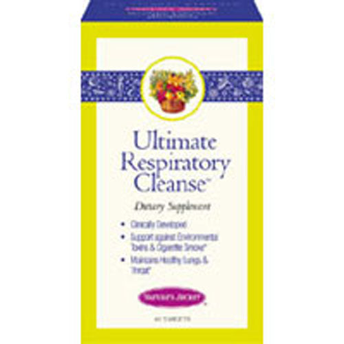 Respiratory Support & Defense 60 Tabs by Nature's Secret