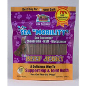 Sea Mobility W-MSM/Gluc/Sea Cucumber Beef Jerky 22 Strips by Ark Naturals (2584023695445)