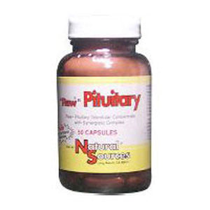 Raw Pituitary 50 Tablets by Natural Sources