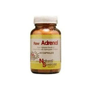 Raw Adrenal 60 Caps by Natural Sources
