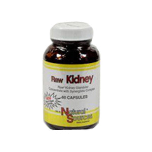 Raw Kidney 60 Tabs by Natural Sources