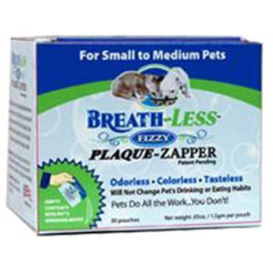 Breath Less Fizzy Plaque Zapper For Small to Medium, 30 pouches by Ark Naturals (2588989784149)