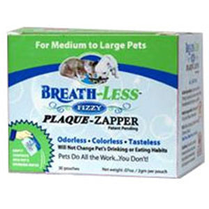 Breath Less Fizzy Plaque Zapper For Medium to Large pets, 30 packs by Ark Naturals (2584231837781)