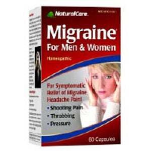 MIGRAINE RELIEF 60 Capsules by Natural Care (2588845899861)