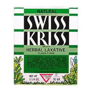 Swiss Kriss Herbal Laxative Flake Box, 3.25 Oz by Modern Products