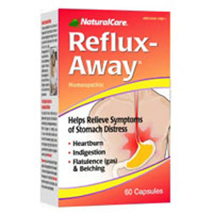 Reflux-Away 60 Caps by Natural Care (2584125341781)
