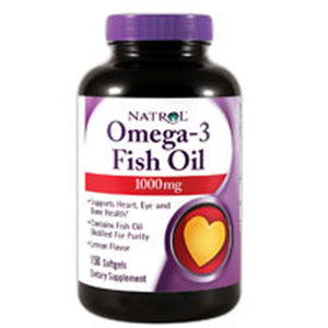 Omega-3 150 Softgels by Natrol (2584191238229)