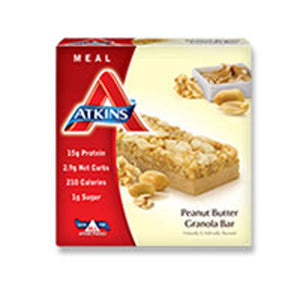 Advantage Bar Peanut Fudqe Granola 5 Pack by Atkins (2584234557525)