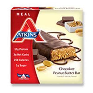 Advantage Bar Chocolate Peanut butter 5 Pack by Atkins (2584234590293)