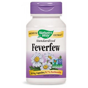 Feverfew Standardized Extract EXTRACT, 60 CAP by Nature's Way