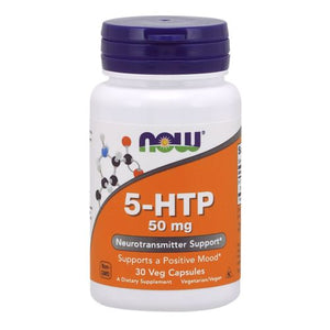 5-HTP 30 Caps by Now Foods (2584137597013)