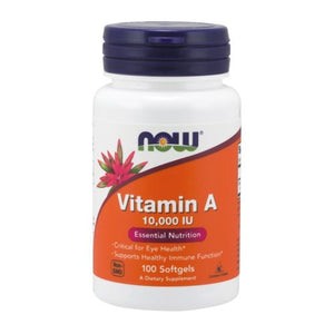 Vitamin A 100 Sgels by Now Foods (2584137957461)
