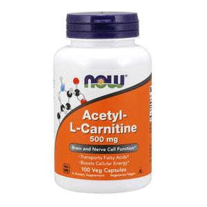 Acetyl-L Carnitine 100 Caps by Now Foods