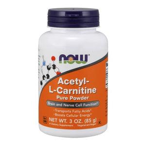 Acetyl-L Carnitine Powder 3 OZ by Now Foods