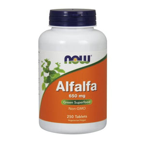 Alfalfa 250 Tabs by Now Foods (2584139137109)