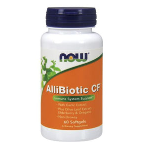 Allibiotic CF 60 Softgels by Now Foods (2584139235413)