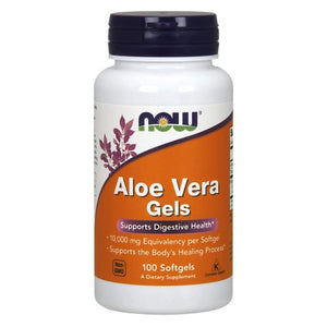 Aloe Vera 100 Softgels by Now Foods (2584139399253)