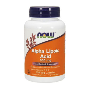ALPHA LIPOIC ACID 120 Veg Caps by Now Foods