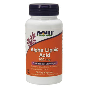 Alpha Lipoic Acid 60 Vcap by Now Foods (2584139497557)