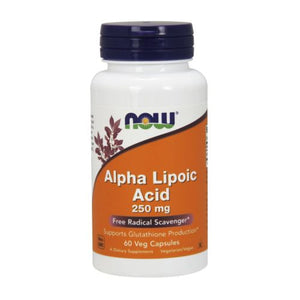 ALPHA LIPOIC ACID 60 Caps by Now Foods (2584139595861)