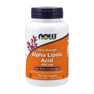 Alpha Lipoic Acid 120 Vcaps by Now Foods (2584139628629)