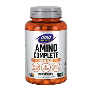 Amino Complete 120 Caps by Now Foods (2584139825237)