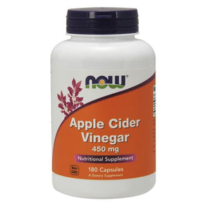 Apple Cider Vinegar 180 Caps by Now Foods (2584139989077)