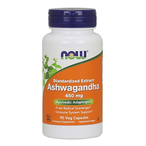 Ashwaganda 90 Veg Caps by Now Foods