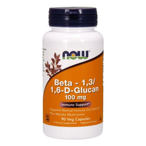 Beta 1-3/1-6- D -Glucan 90 Vcaps by Now Foods