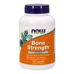Bone Strength 120 Caps by Now Foods (2584143265877)