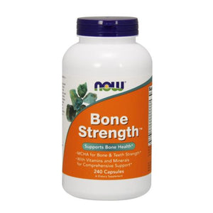 Bone Strength 240 Caps by Now Foods (2584143298645)
